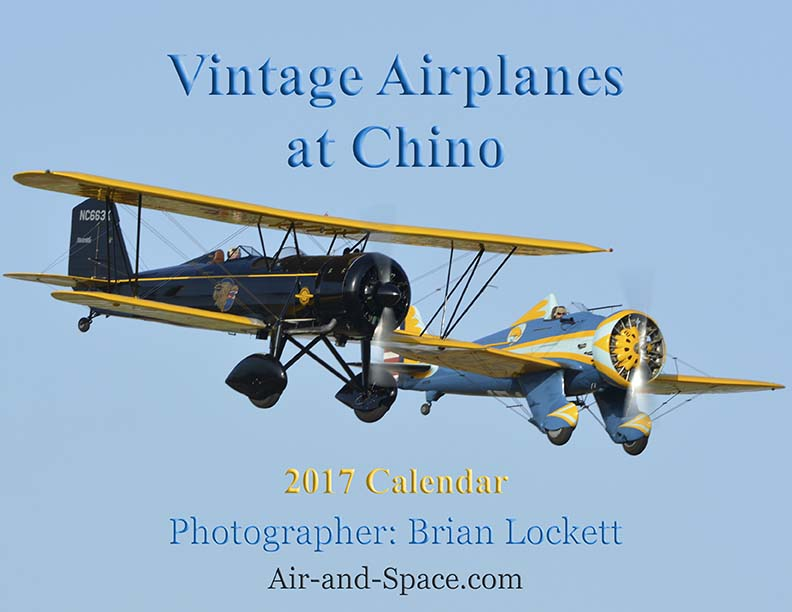 Lockett Books Calendar Catalog: Vintage Airplanes at Chino